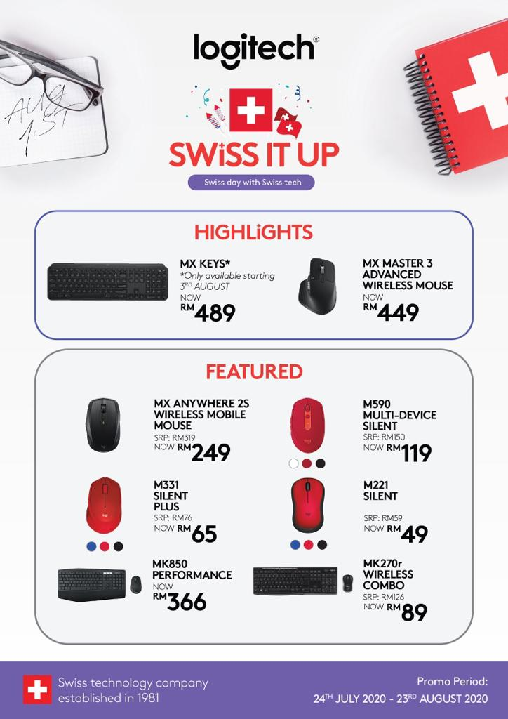 LOGITECH SWISS IT UP Promotion